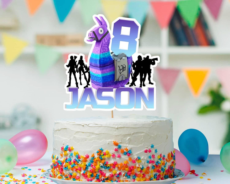 Fortnite Cake Topper Selfie Garden Fortnite's 1st birthday challenges are now live! fortnite cake topper